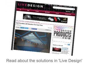 Live Design tile